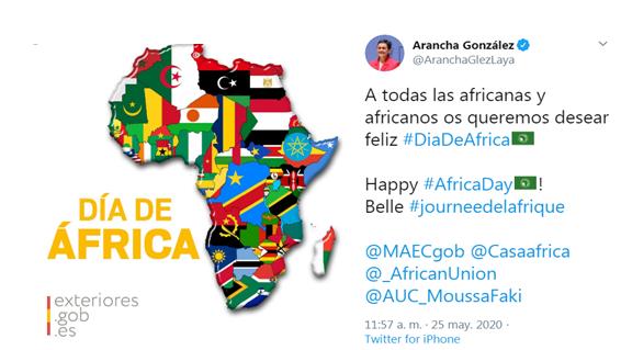La ministra de Exteriores borra la bandera saharaui del mapa político de África