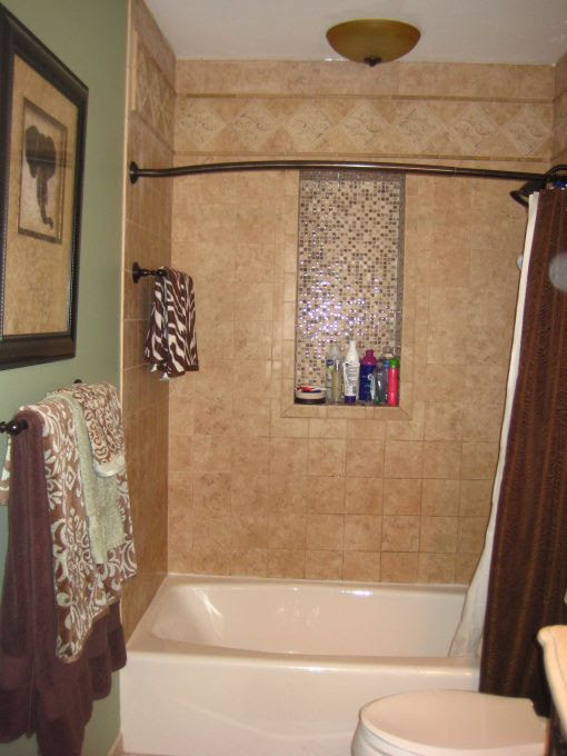 Guest bath : surround