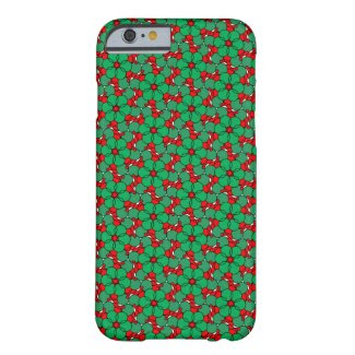 Hypnotic Hip Flora on iPhone 6 Barely There Case Barely There iPhone 6 Case