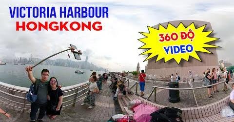 360 VR VIDEO | Vịnh Victoria Harbour: Thiên đường du lịch Hồng Kông