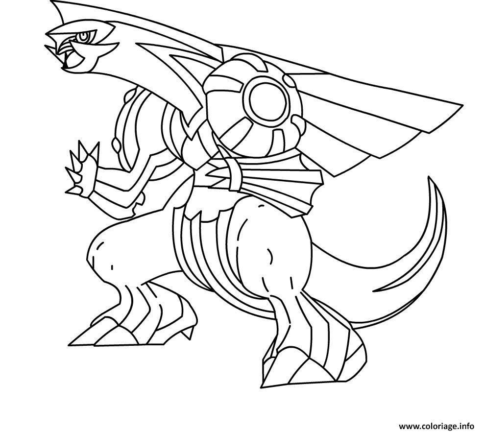 Coloriage Pokemon Noir Et Blanc Dessin  Imprimer