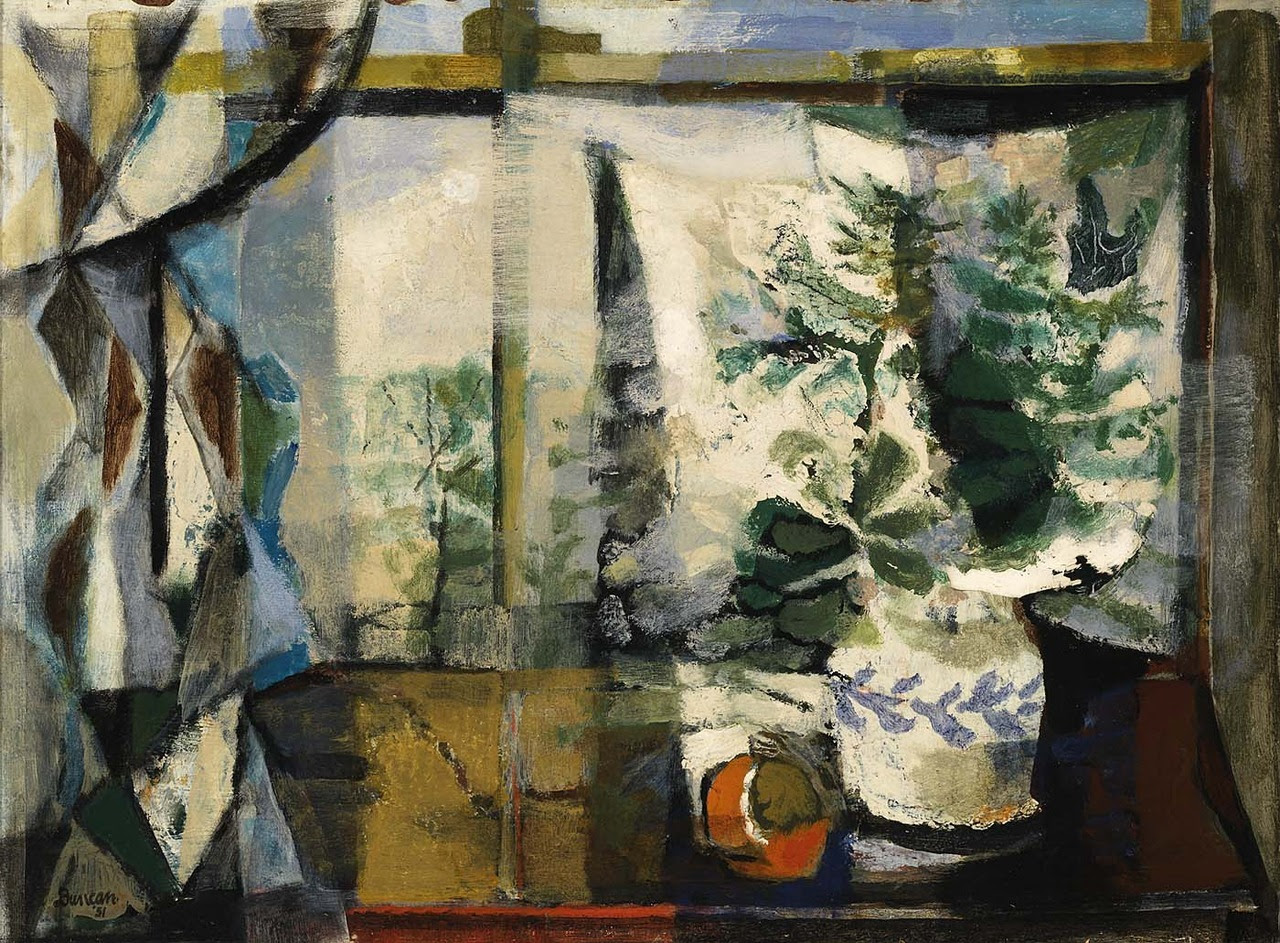 peira:  Frank Duncan:  Within the Window (1951) via the Smithsonian American Art Museum
