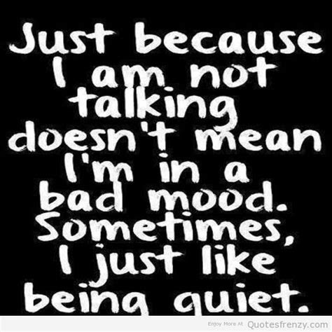 Bad Mood Quotes Love