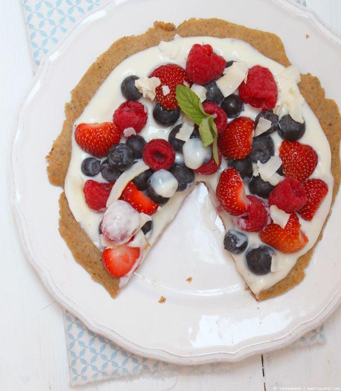 Sweet Breakfast Pizza