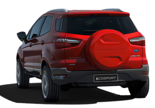 Ford Ecosport Cross Side View