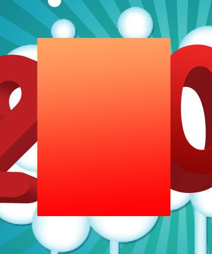 Membuat efek Teks Colorful 3D di Photoshop CS3