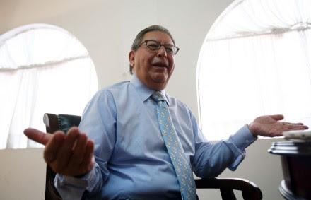 Francisco Rojas Gutiérrez, titular de la CFE. Foto: Germán Canseco