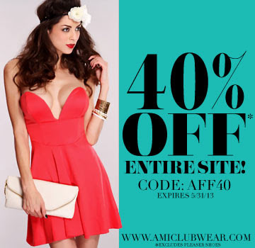 Exclusive 40% promotional code: AFF40