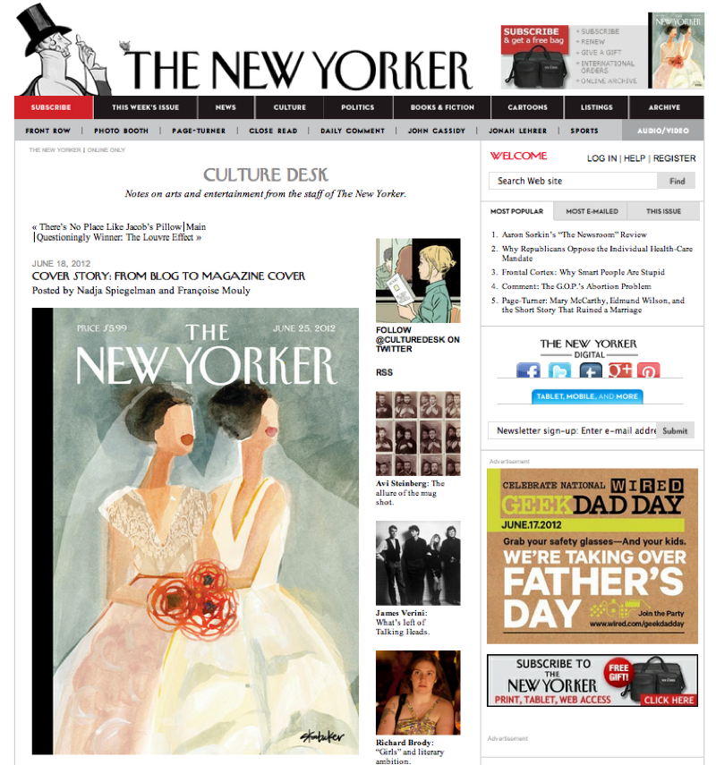 The New Yorker Weddings 2012