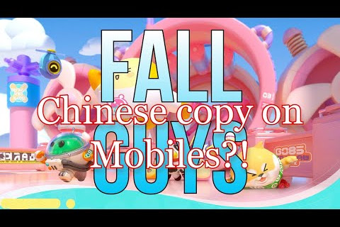 Eggy Go - Chinese Fall Guys clone on Mobiles, APK