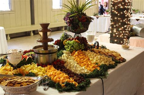 Fruit and Vegetable Display Ideas for Weddings     and