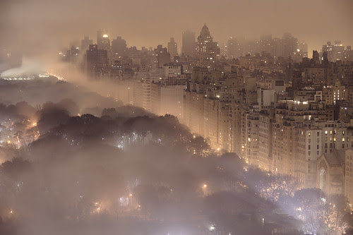 New York at Night por JC Richardson