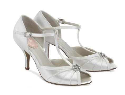 Perfume Pink by Paradox London Wedding Shoes   Vintage Style