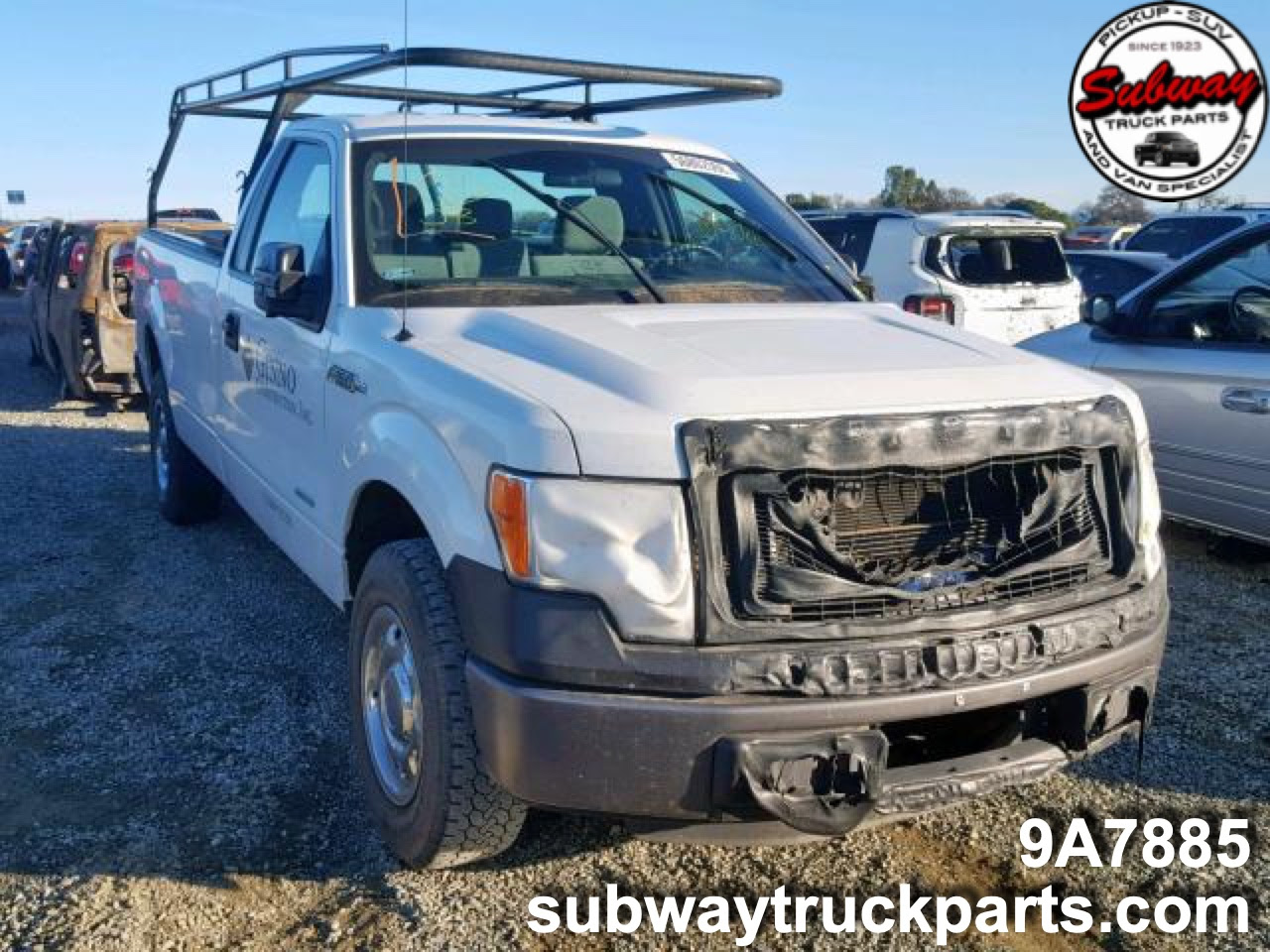Used Parts 2013 Ford F150 35l 4x2 Subway Truck Parts