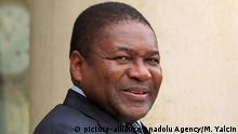 Frankreich Besuch Mosambik Präsident Filipe Nyusi