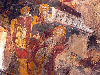 Resultado de imagen para San Ignacio de Antioquia devorado por los leones