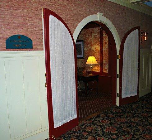 Doorway to the Dodge Parlor