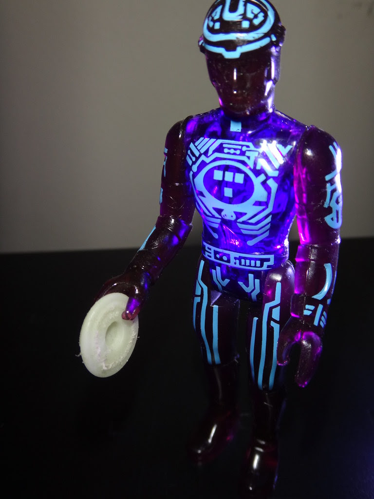 Tron action figure by TOMY