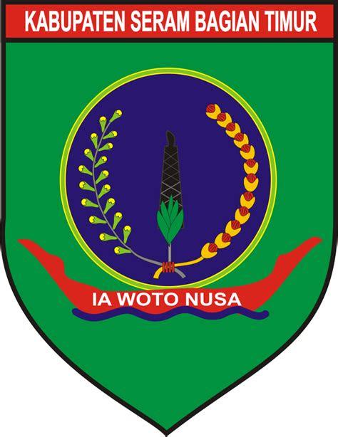 logo kabupaten seram bagian timur kumpulan logo indonesia
