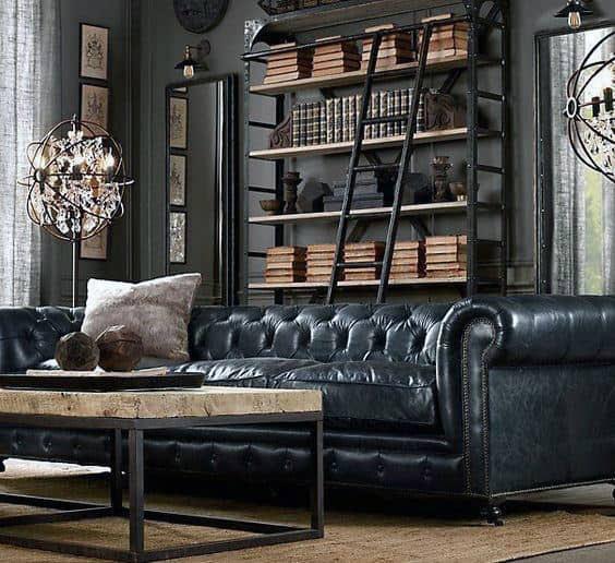 100 Bachelor Pad Living Room Ideas For Men  Masculine Designs