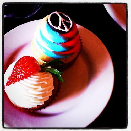 his peacecake, my vegan cake
