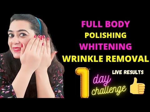 1 Day Instant Hands Feet Whitening Wrinkle Removal Challenge get