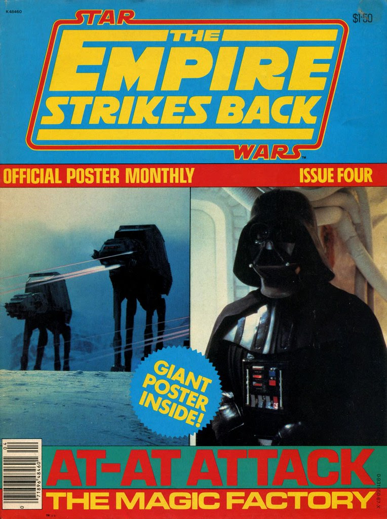 star wars empire strikes back poster magazine issue 4 1980