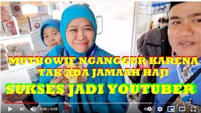 Kisah Muthowif Asal Madura NganggurLalu Jadi Youtuber