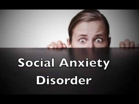 Social Anxiety Disorder - YouTube