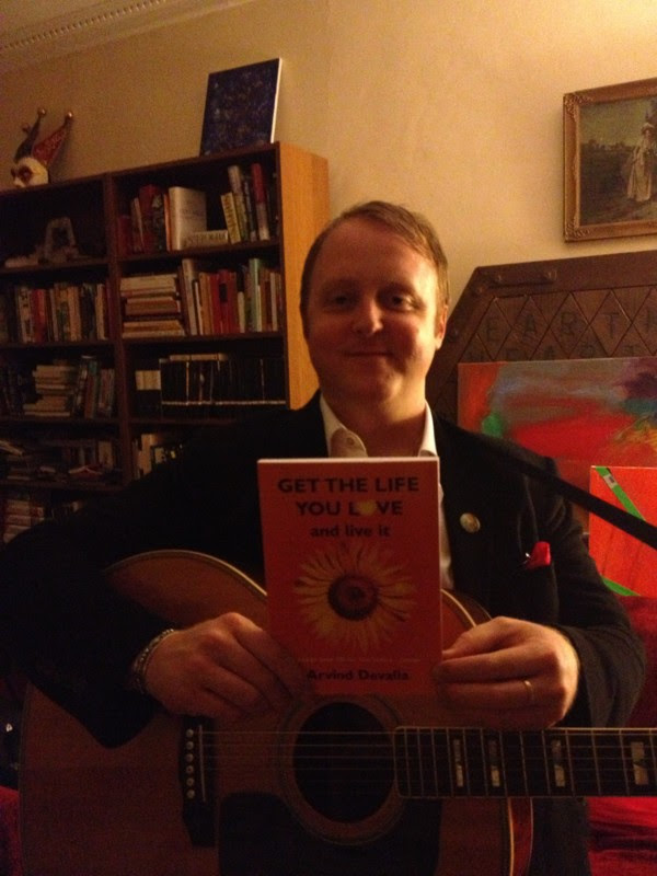 """James McCartney and """"Get the Life you Love"""" book"""