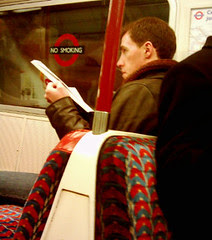 Rob Brydon on the Tube