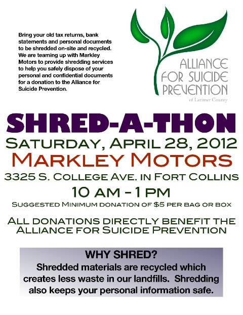 Markley motors corner markley motors shred a thon april for Markley motors used cars