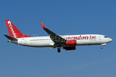 Corendon.be (Corendon Airlines Belgium) Boeing 737-86J WL TC-TJL (msn 32920) ZRH (Paul Bannwarth). Image: 913346.