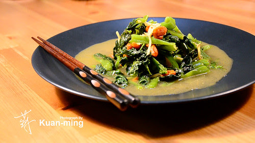 薑絲炒皇宮菜2