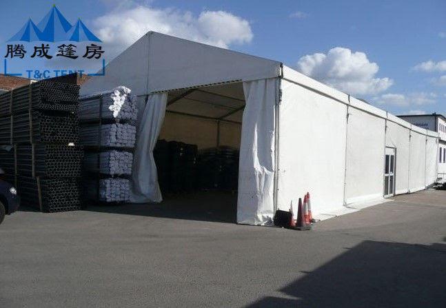 Desain Modern Tenda Gudang Besar 10x20m 30x40m Dengan Struktur Tugas Berat
