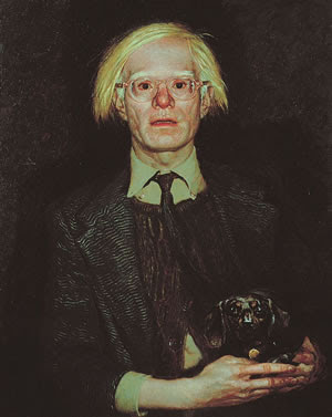 Andy Warhol by Jamie Wyeth