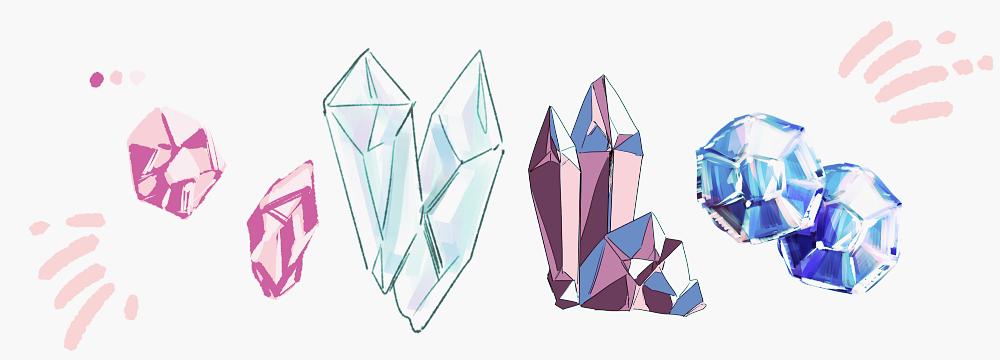 キラッと光を感じる鉱石宝石金属の描き方 はたらくビビビット By