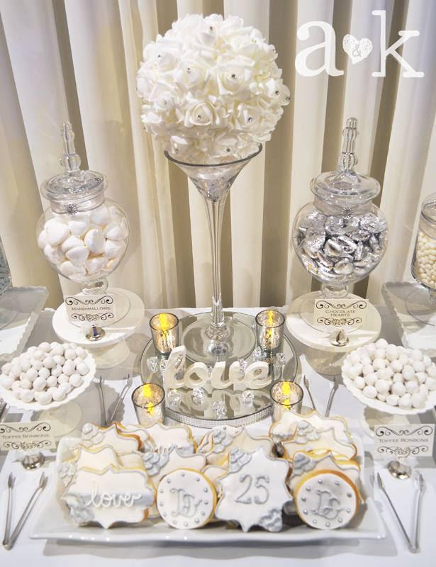 Dave Emma S Silver Wedding Anniversary A K Lolly Buffet