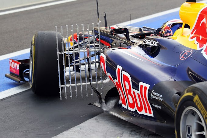 Fotos del coche de Red Bull en la Fórmula 1