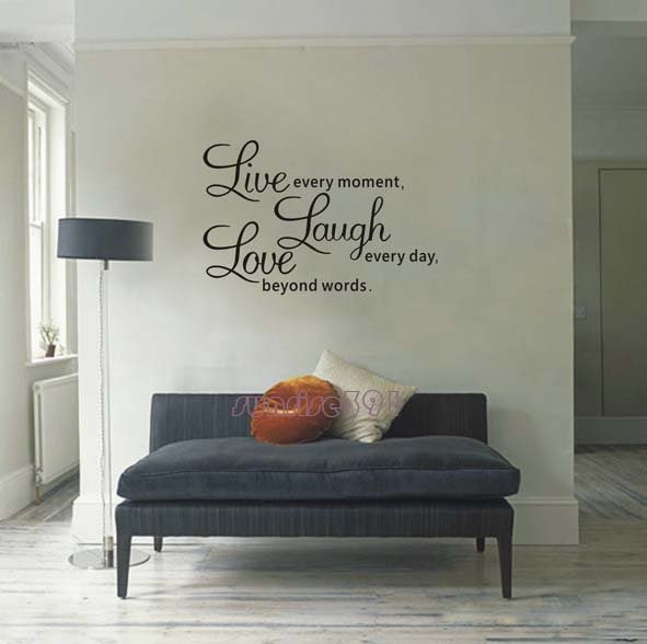Wall Decor Images A Prayer Adhesive And On Dining Room ...