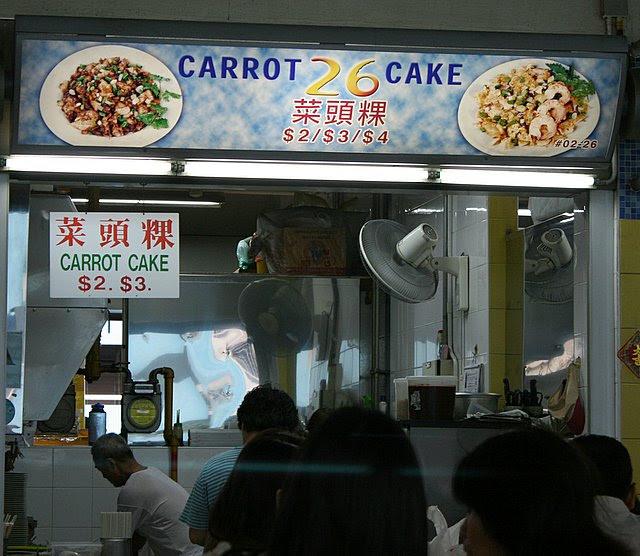Carrot Cake 26 or 26 Carrot Cake or Carrot 26 Cake?
