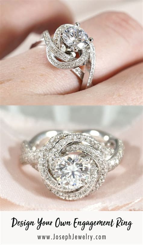 Design your own engagement ring! Whether you start from