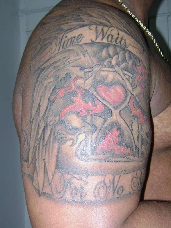 Time Waits For No Man Tattoo