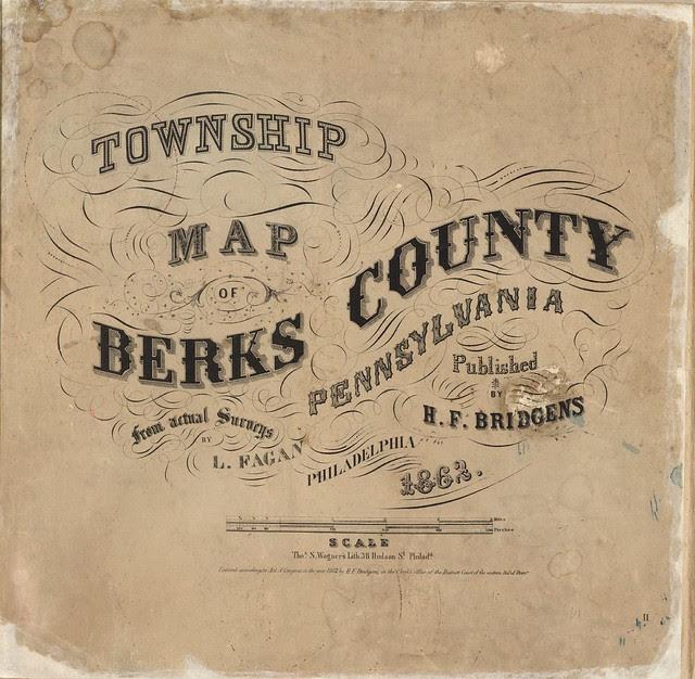map book typographic styles