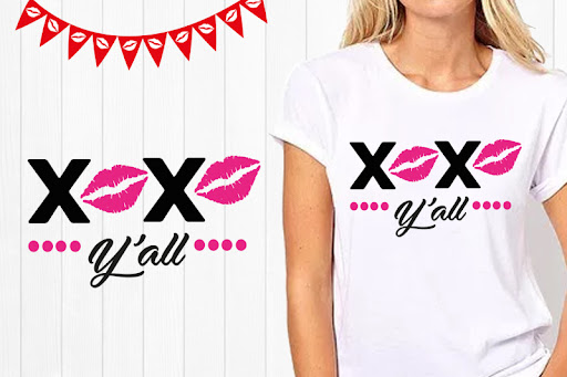 Download Free Kiss svg, xoxo yall svg, Happy Valentines Day SVG ...