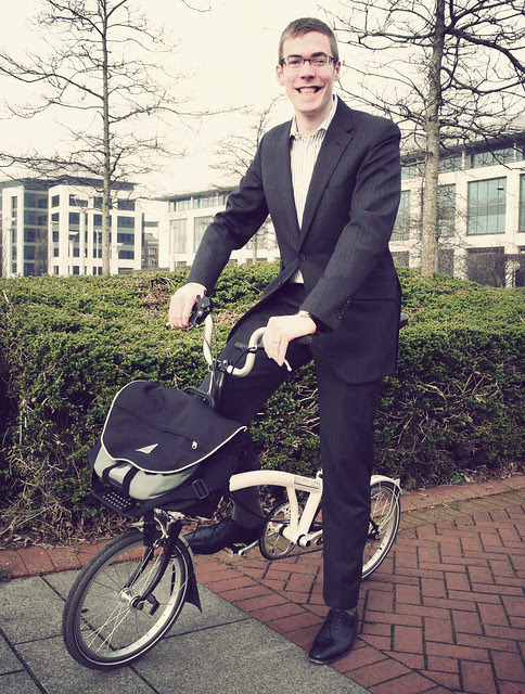George and his Brompton