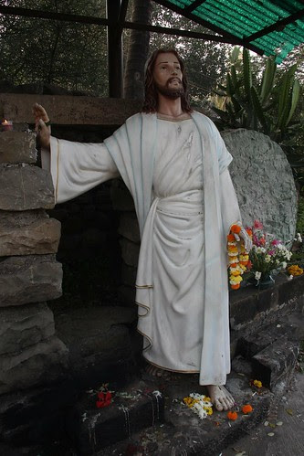 Jesus On Republic Day At Bandra by firoze shakir photographerno1