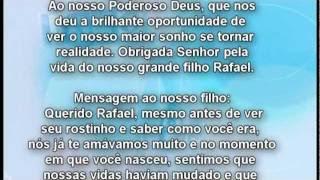 Rafael Mensagem Final Do Dvd Youtube