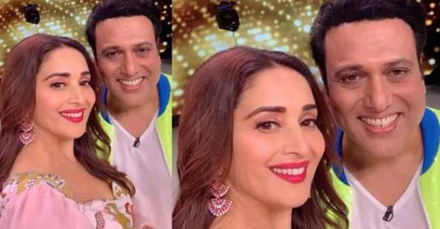 Dance Deewane 2: Govinda makes an appearance, Madhuri posts a picture of them together