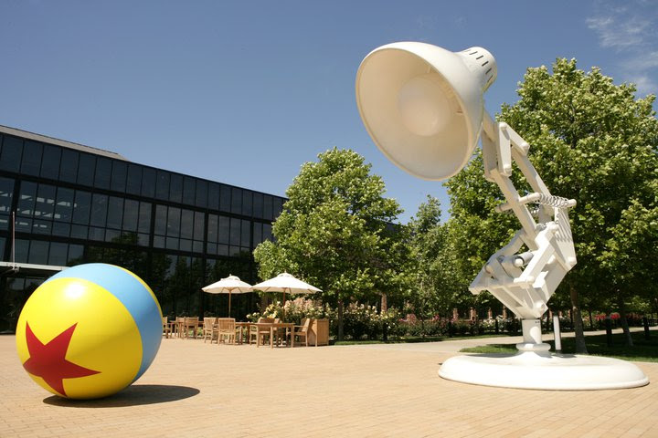 pixar lamp ball. Pixar Animation Studios